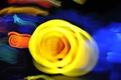 Abstracte kleurenvlekken. Royalty-vrije Stock Foto