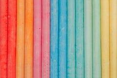 Abstracte kleurkrijtjetextuur als achtergrond royalty-vrije stock fotografie