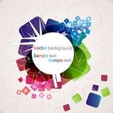 Abstracte kleurrijke achtergrond Royalty-vrije Stock Foto
