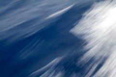 Abstracte, kleurrijke achtergrond Gemaakt met lange blootstelling op de overzeese golven Stock Fotografie
