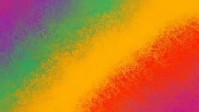 Abstracte kleurrijke achtergrond met geweven strepen van gewaagde heldere rode purpere geelgroene roze en purper vector illustratie