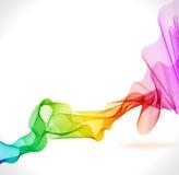 Abstracte kleurrijke achtergrond met golf vector illustratie