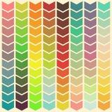 Abstracte kleurrijke achtergrond met gradiënt veranderende pijlen stock illustratie