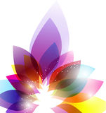 Abstracte kleurrijke achtergrond Stock Afbeelding