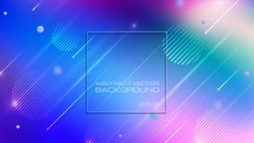 Abstracte kleurrijke achtergrond met verlichting vector illustratie