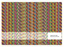 Abstracte kleurrijke achtergrond met vierkanten royalty-vrije illustratie