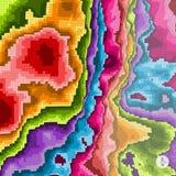 Abstracte kleurrijke achtergrond Mozaïekvector Royalty-vrije Stock Afbeeldingen