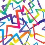 Abstracte kleurrijke achtergrond, naadloos patroon Stock Foto