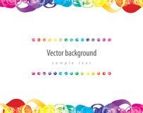 Abstracte kleurrijke achtergrond. Vector. Royalty-vrije Stock Fotografie