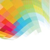 Abstracte kleurrijke Achtergrond, Vector Royalty-vrije Stock Foto
