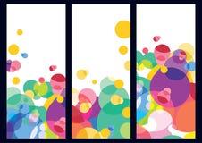 Abstracte kleurrijke achtergrond Vector Royalty-vrije Stock Foto's