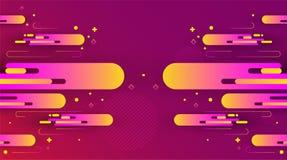 Abstracte kleurrijke achtergrond Vector illustratie royalty-vrije stock fotografie
