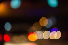 Abstracte kleurrijke bokeh stock foto's