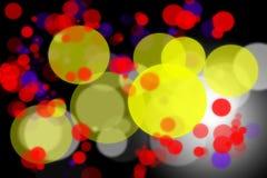 Abstracte kleurrijke bokehachtergrond Royalty-vrije Stock Afbeelding