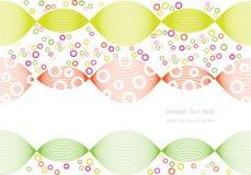 Abstracte kleurrijke cirkelsachtergrond vector illustratie