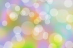 Abstracte kleurrijke cyclus bokeh stock afbeelding