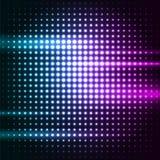 Abstracte kleurrijke discoachtergrond stock illustratie