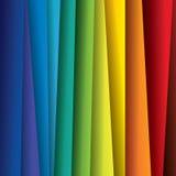 Abstracte kleurrijke document of bladenachtergrond (achtergrond) stock illustratie