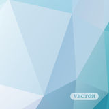 Abstracte kleurrijke driehoeken Stock Foto