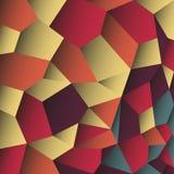 Abstracte kleurrijke flardenachtergrond Stock Fotografie
