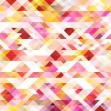 Abstracte kleurrijke geometrische achtergrond Royalty-vrije Stock Foto