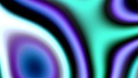 Abstracte kleurrijke golven stock illustratie