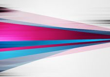 Abstracte kleurrijke grunge vectorachtergrond van technologie stock foto