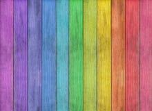 Abstracte kleurrijke houten textuurachtergrond Stock Afbeeldingen