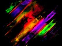 Abstracte kleurrijke kunstachtergrond Stock Foto