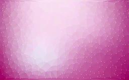 Abstracte Kleurrijke Lage poly Vectorachtergrond met purper gradiënt futuristisch patroon royalty-vrije illustratie