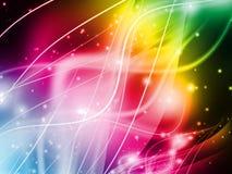 Abstracte kleurrijke lichte achtergrond vector illustratie