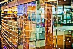 Abstracte kleurrijke lichten en bezinningen Royalty-vrije Stock Afbeeldingen