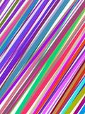 Abstracte kleurrijke lijnendekking stock illustratie