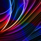 Abstracte kleurrijke lines4 Stock Afbeeldingen