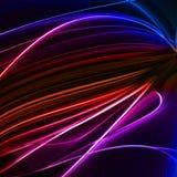 Abstracte kleurrijke lines6 Royalty-vrije Stock Foto's