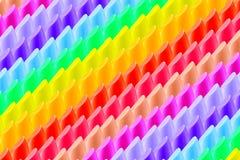 Abstracte kleurrijke lippenstiftachtergrond, regenboog Stock Foto's