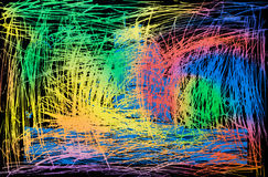 Abstracte kleurrijke muuroppervlakte Achtergrond Stock Foto