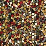 Abstracte kleurrijke naadloze achtergrond met vierkanten Stock Afbeelding