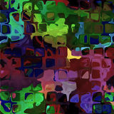 Abstracte kleurrijke naadloze textuur vector illustratie
