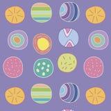 Abstracte kleurrijke patroonachtergrond Patroon stock illustratie