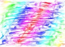 Abstracte kleurrijke regenboog het schilderen kunstenachtergronden Royalty-vrije Stock Foto's