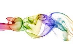 Abstracte kleurrijke rook Royalty-vrije Stock Fotografie