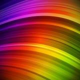 Abstracte kleurrijke stralenachtergrond Royalty-vrije Stock Fotografie