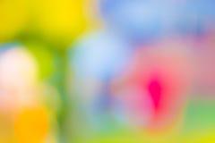 Abstracte kleurrijke vage achtergrond Royalty-vrije Stock Foto