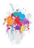 Abstracte kleurrijke vectorachtergrond Royalty-vrije Stock Foto's