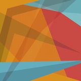 Abstracte kleurrijke vectorachtergrond Royalty-vrije Stock Afbeeldingen