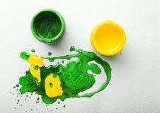 Abstracte kleurrijke verf Royalty-vrije Stock Afbeelding