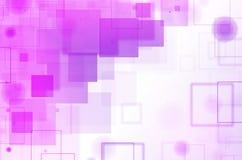 Abstracte kleurrijke vierkante achtergrond Stock Fotografie