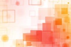 Abstracte kleurrijke vierkante achtergrond Royalty-vrije Stock Afbeelding