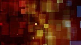 Abstracte Kleurrijke Vierkanten Videolijn Als achtergrond royalty-vrije illustratie